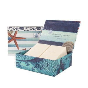 Komplet prezentowy 2 mydeł Tradewinds z kolekcji Seaside