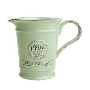 Zielony dzbanek porcelanowy T&G Woodware Pride of Place, 500 ml