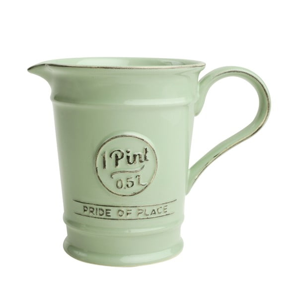 Zielony dzbanek porcelanowy T&G Woodware Pride of Place, 500 ml