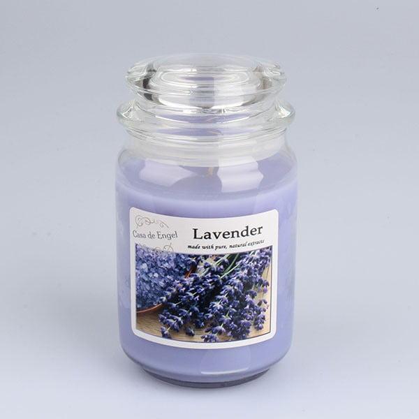 Świeczka o zapachu lawendy Dakls, 460 g