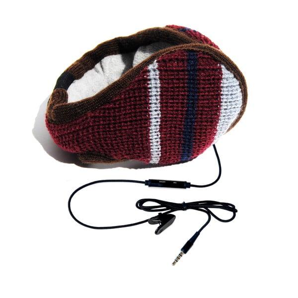 Nauszniki ze słuchawkami Hi-Ear Lana Rosso
