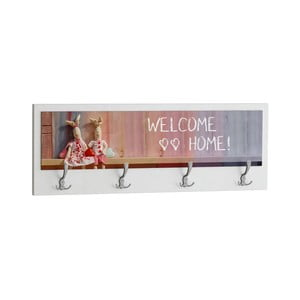 Wieszak Welcome Home White