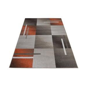 Brązowo-szary dywan Webtappeti Modern, 140x200cm