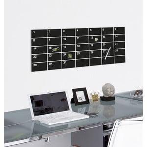 Tablica magnetyczna Eurographic Month Black, 30x80 cm
