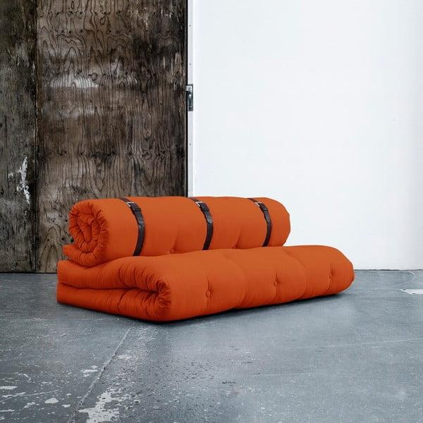 Sofa rozkładana Karup Buckle Up Orange