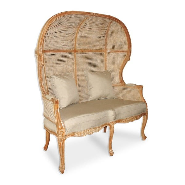 Rattanowy fotel dla dwóch osób Rattan