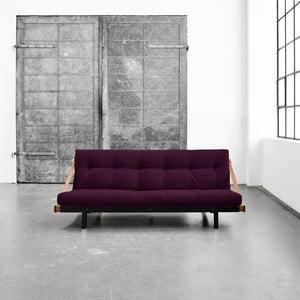 Wielofunkcyjna sofa Karup Jump Black/Purple Plum