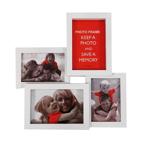 Połączone ramki na 4 zdjęcia Photo, białe