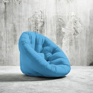 Fotel rozkładany Karup Nido Horizon Blue