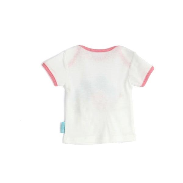 Dziecięca koszulka z krótkim rękawem Little Birds, 18-24 miesiące