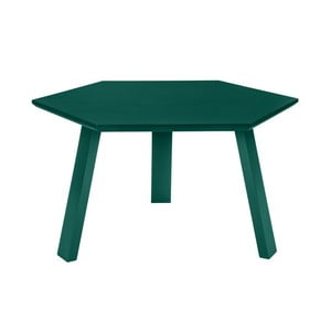Stolik Hexagon Green, 70x37x70 cm