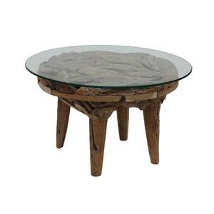 Stolik z drewna tekowego HSM Collection Foe