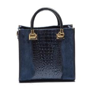 Niebieska skórzana torebka Sofia Cardoni Dona