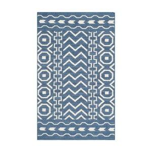 Dywan wełniany Kent Blue, 121x182 cm