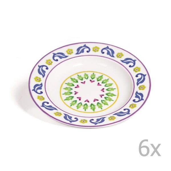 Zestaw 6 głębokich talerzy Toscana Gimignano, 22.5 cm