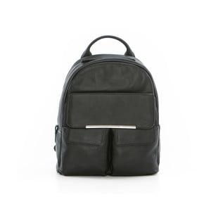 Czarny skórzany plecak Gianni Conti Petrina