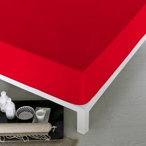 Prześcieradło Home Red, 100x200 cm