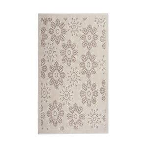 Kremowy dywan bawełniany Floorist Randa, 80x300cm