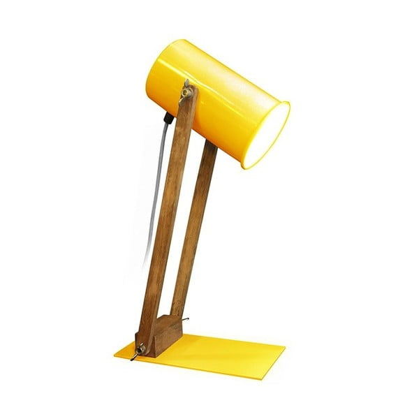 Lampa stołowa Baltic Yellow, 45 cm