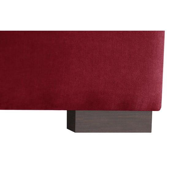 Sofa narożna Jalouse Maison Irina, prawy róg, czerwona