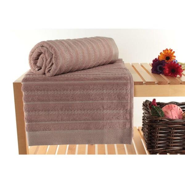 Zestaw 2 ręczników Bombeli Dusty Rose, 90x150 cm