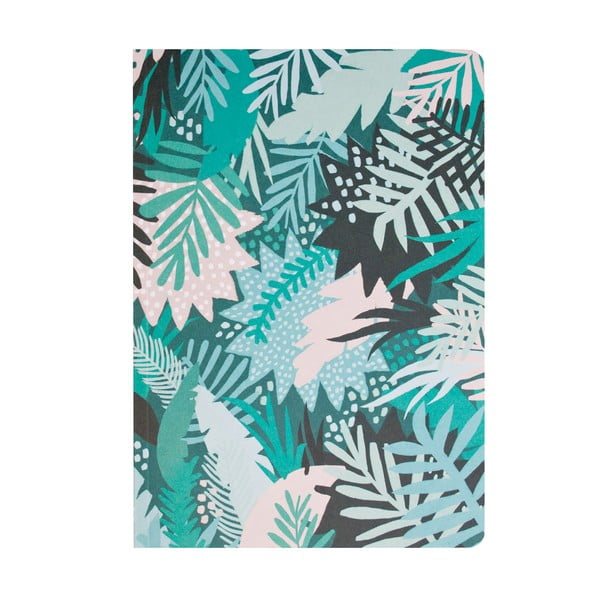 Zielony notes Michelle Carlslund Jungle
