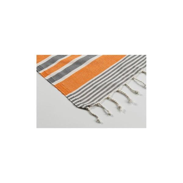 Ręcznik hammam Sunset Orange, 100x180 cm
