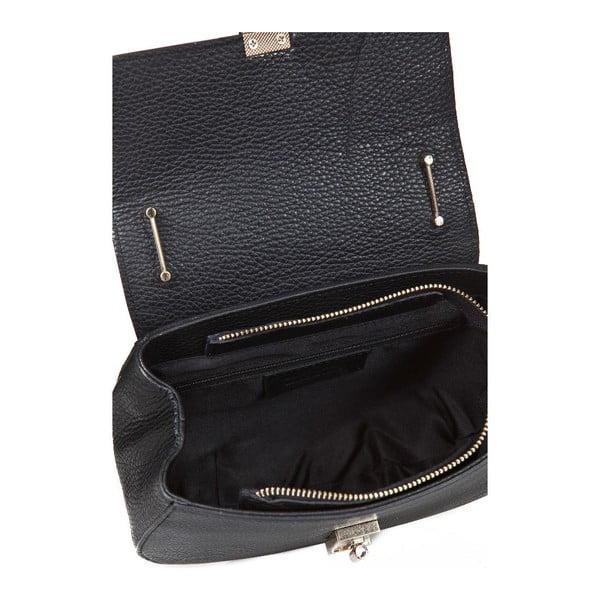 Czarna torebka skórzana Giorgio Costa Ravenna