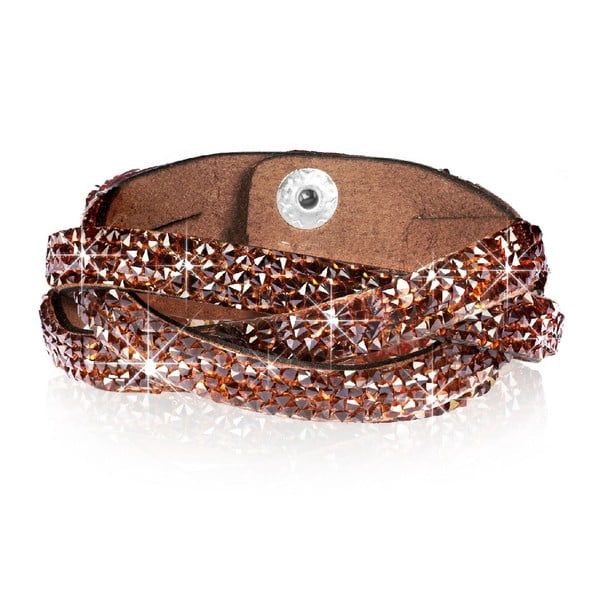 Bransoletka Brownie, 17 cm