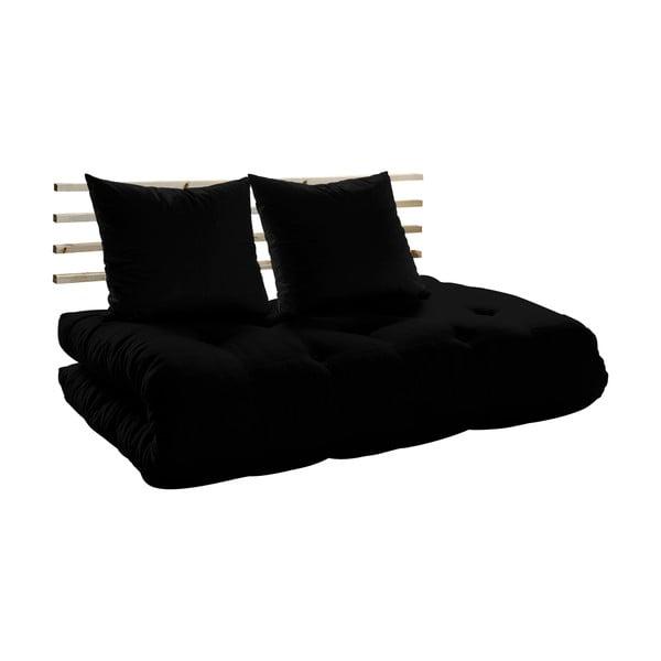 Sofa rozkładana Karup Shin Sano Natur/Black