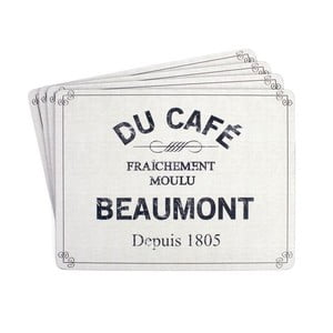 Mata stołowa Beaumont Blue, 4 szt.