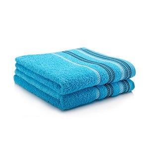 Komplet 2 ręczników Hugo 50x90 cm, turquiose