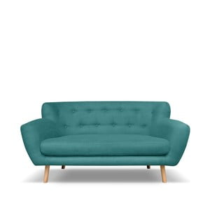 Ciemnozielona sofa 2-osobowa Cosmopolitan design London