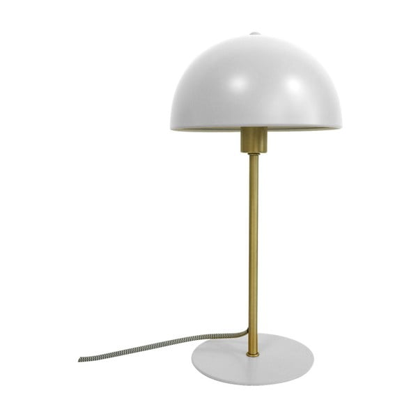Biała lampa stołowa Leitmotiv Bonnet