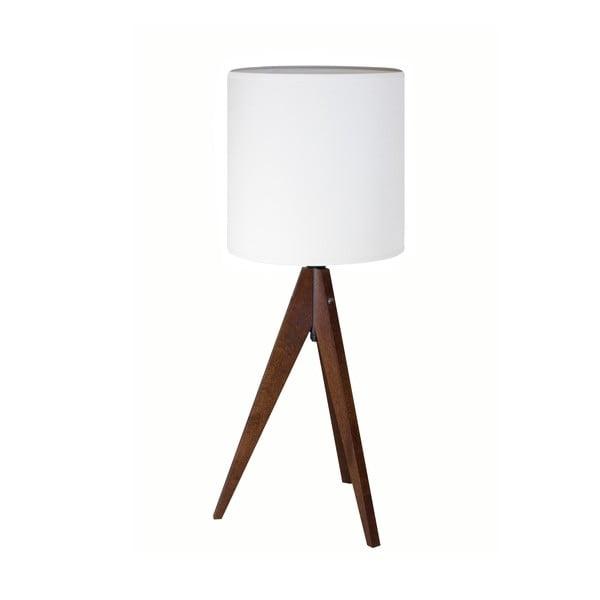Lampa stołowa  Artist White/Brown, 40x25 cm