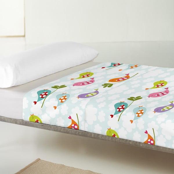 Poszewka na poduszkę i narzuta Mr. Fox Little Birds, 100x135 cm