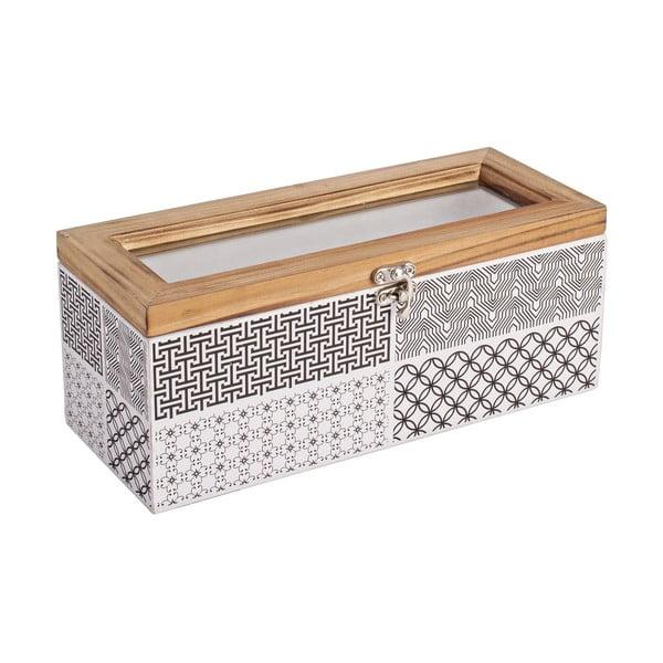 Pudełko z zamknięciem Andrea, 25x11 cm