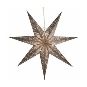 Gwiazda świecąca Antique Grey, 80 cm