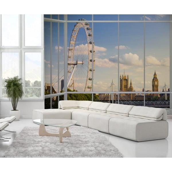 Tapeta wielkoformatowa Widok na Londyn, 315x232 cm