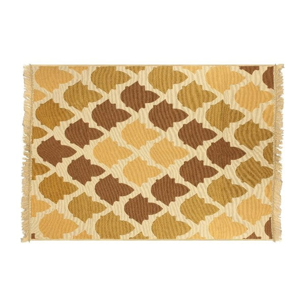 Brązowo-beżowy dywan Ya Rugs Baklava, 120x180cm