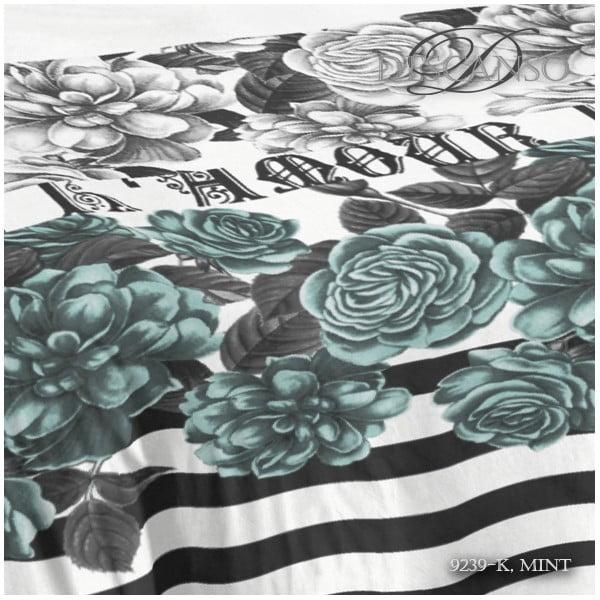 Pościel Descanso Mint, 140x200 cm