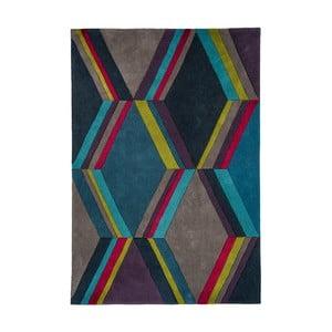 Ciemny szaro-niebieski dywan Asiatic Carpets Harlequin Mosaic, 170x120 cm