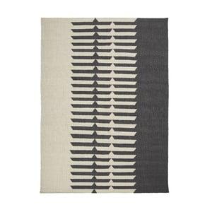 Wełniany dywan Tottori Black, 170x240 cm