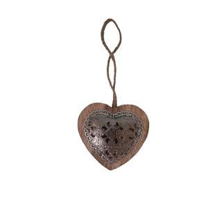 Dekoracja wisząca Antic Dark Heart