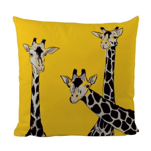 Poduszka Friendly Giraffes, 50x50 cm