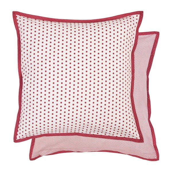 Czerwona poszewka na poduszkę Clayre & Eef, 40x40 cm