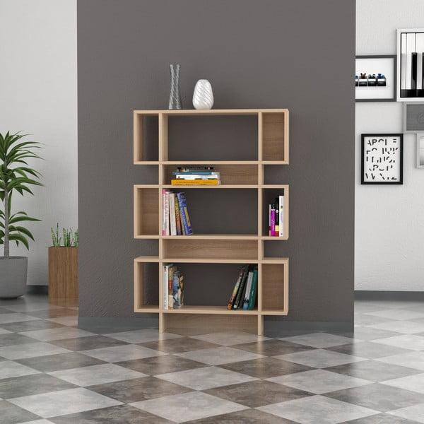 Biblioteczka Poligon 131x90 cm Oak