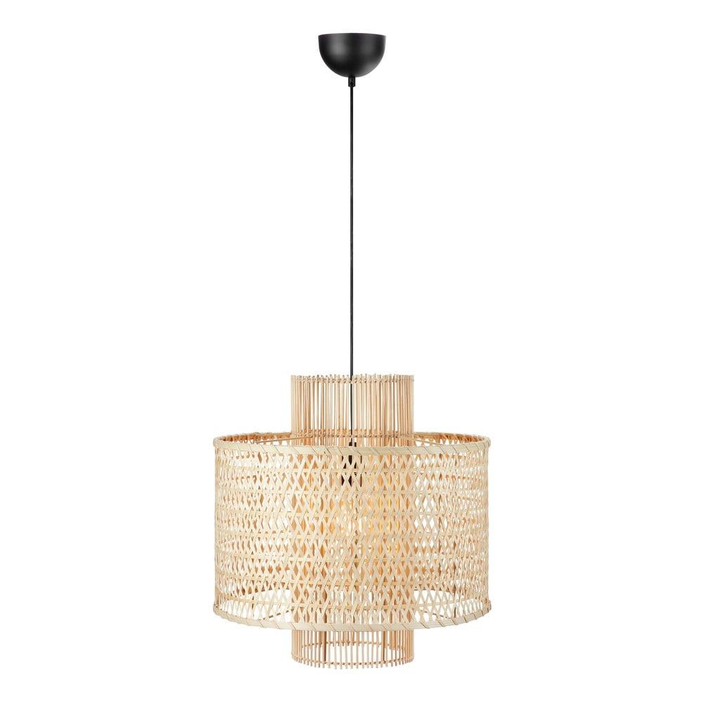 Beżowa lampa wisząca Markslöjd Ambon