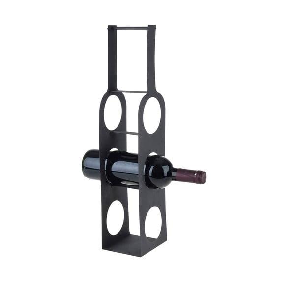 Metalowy stojak na wino Bottles