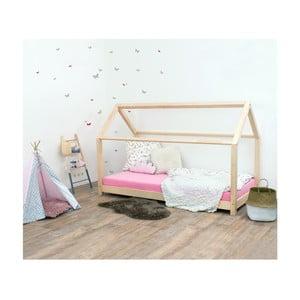 Łóżko dziecięce z drewna świerkowego Benlemi Tery, 70x160 cm